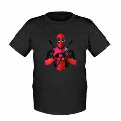 Детская футболка Deadpool Love