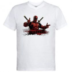 ������� ��������  � V-�������� ������� Deadpool Paint - FatLine