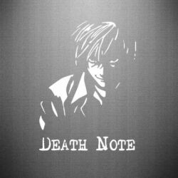 Наклейка Death Note Logo