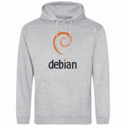 Толстовка Debian - FatLine
