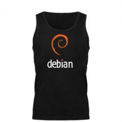 Мужская майка Debian - FatLine