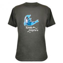 Камуфляжная футболка Дельфин