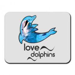 Коврик для мыши Дельфин