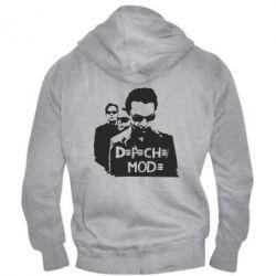 Мужская толстовка на молнии Depeche Mode Band