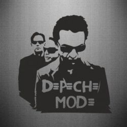 Наклейка Depeche Mode Band