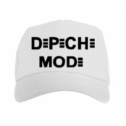 Кепка-тракер Depeche Mode Logo - FatLine