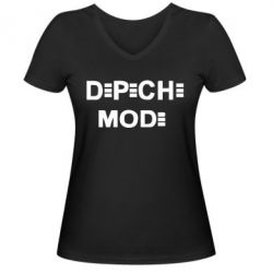 ������� �������� � V-�������� ������� Depeche Mode Logo - FatLine