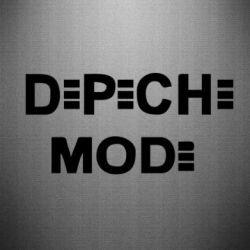 Наклейка Depeche Mode Logo - FatLine