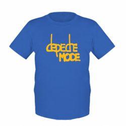 Детская футболка Депеш Мод