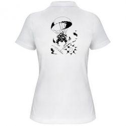 Женская футболка поло Десантник - FatLine