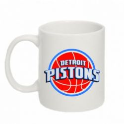Кружка 320ml Detroit Pistons Logo - FatLine