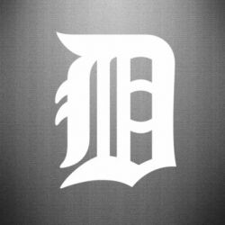 Наклейка Detroit Tigers - FatLine
