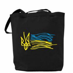 Сумка Детский рисунок флаг Украины - FatLine