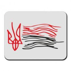 Коврик для мыши Детский рисунок флаг Украины - FatLine