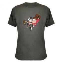 Камуфляжная футболка Диппер и Мэйбл
