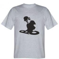 Мужская футболка Dj Logo - FatLine