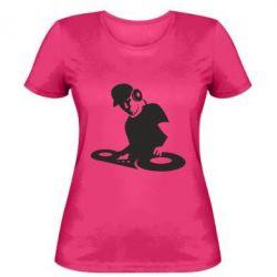 Женская футболка Dj Logo - FatLine