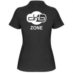 Женская футболка поло DnB Zone