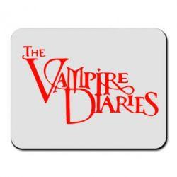 Коврик для мыши Дневники Вампира Лого - FatLine