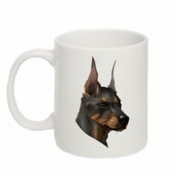 Кружка 320ml Doberman Art
