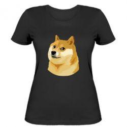 Женская футболка Doge - FatLine