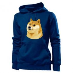 Женская толстовка Doge - FatLine
