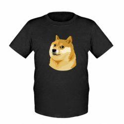 Детская футболка Doge