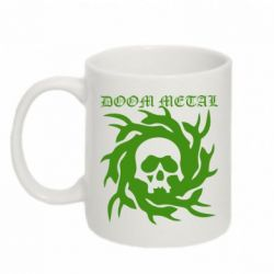 Кружка 320ml Doom Metal