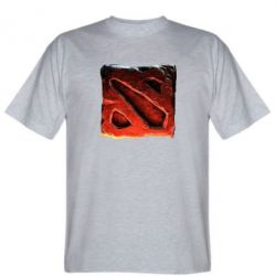 Мужская футболка Dota 2 3d Logo - FatLine