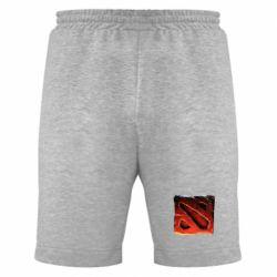 Мужские шорты Dota 2 3d Logo - FatLine