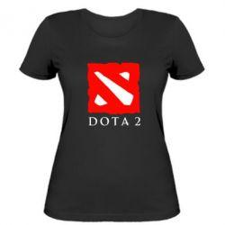 Женская футболка Dota 2 Big Logo - FatLine