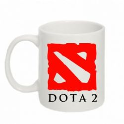 Кружка 320ml Dota 2 Big Logo - FatLine