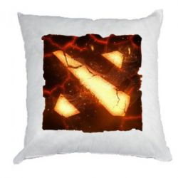 Подушка Dota 2 Fire Logo - FatLine