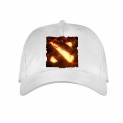 ������� ����� Dota 2 Fire Logo - FatLine