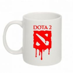 Кружка 320ml Dota 2 Logo - FatLine
