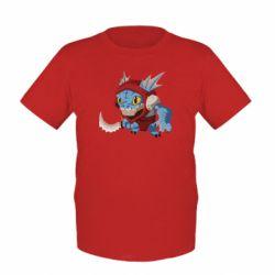 Детская футболка Dota 2 Slark Art - FatLine
