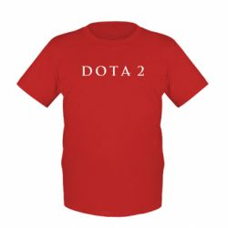 Детская футболка Дота 2 - FatLine