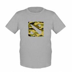 Детская футболка Dota камуфляж - FatLine