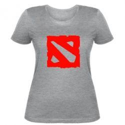 Женская футболка Dota Logo Дота - FatLine