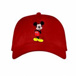 Детская кепка Довольный Микки Маус - FatLine