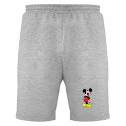 Мужские шорты Довольный Микки Маус