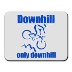 Коврик для мыши Downhill,only downhill - FatLine