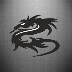 Наклейка Дракон - FatLine