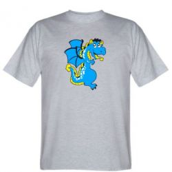 Мужская футболка Дракоша - FatLine