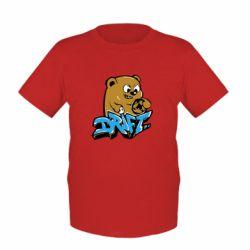 Детская футболка Drift Bear - FatLine