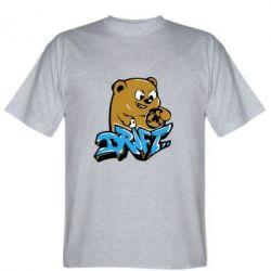 Мужская футболка Drift Bear - FatLine
