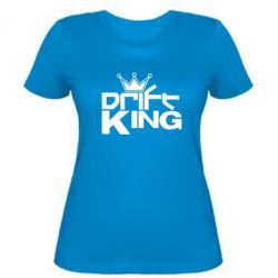 Женская футболка Drift King - FatLine