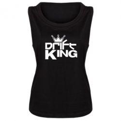 Женская майка Drift King - FatLine
