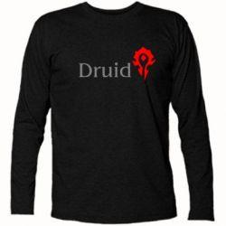 Футболка с длинным рукавом Druid Orc - FatLine