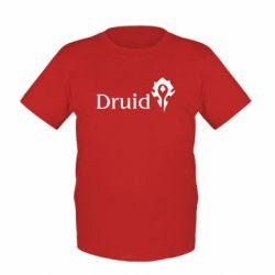 Детская футболка Druid Orc - FatLine